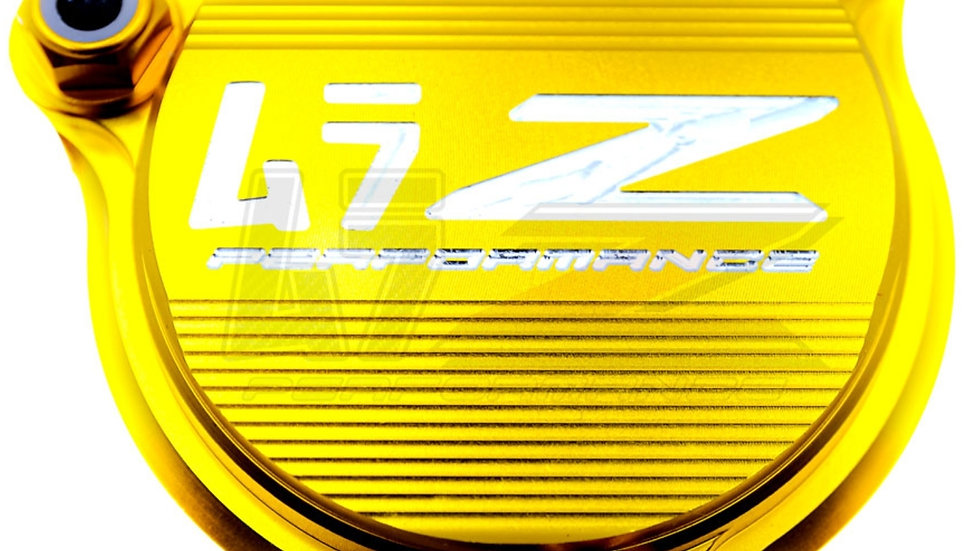 DRZ400SM OIL FILTER COVER-GOLD