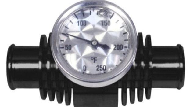 MODQUAD Inline Cooler, Temp Gauge 2', Black