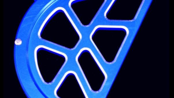 MODQUAD CHAIN GUARD , RAPTOR 700 BLUE