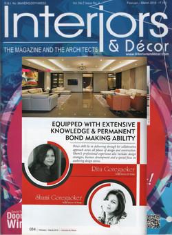 Interiors n decor, Profile design directors, Feb-March 2018-1
