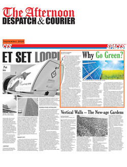 Why go Green by Sachin Goregaoker, 1st S