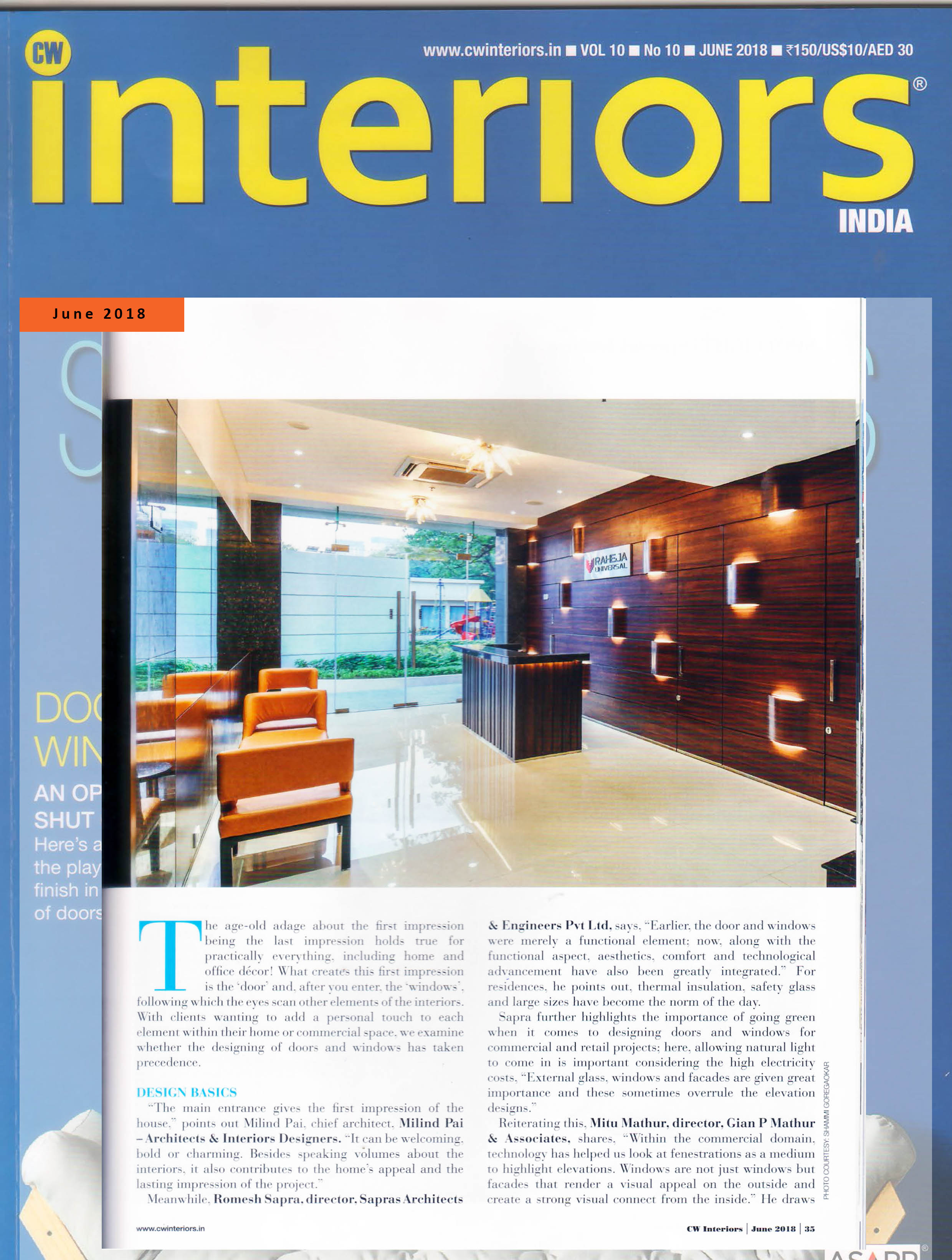 CW interiors june 2018