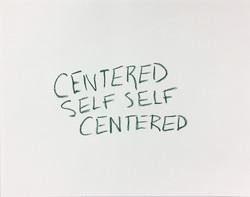 Self-Centered