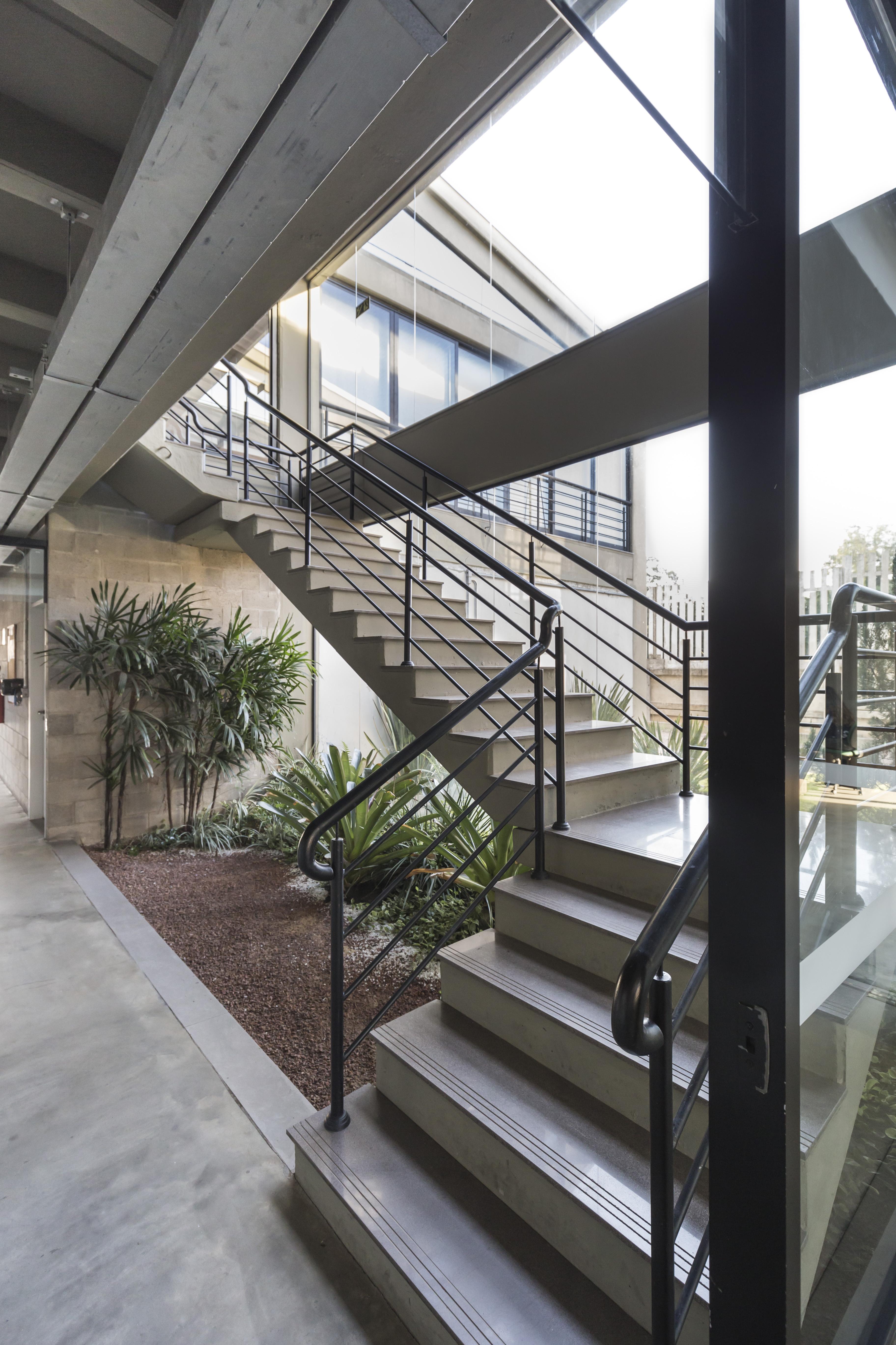 Engemold Headquarters - Stairs