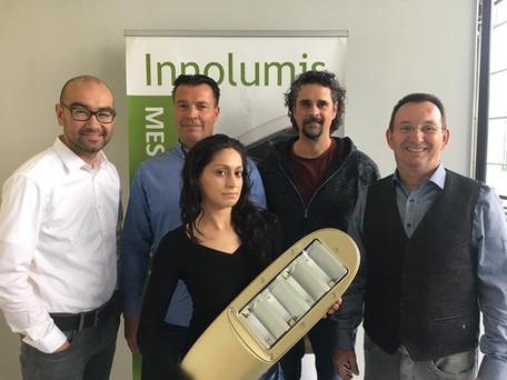 Gouden Nicole voor Oostenrijkse Innolumis partner Dions Light Systems