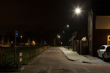Vennebuurt in Goirle krijgt led straatverlichting