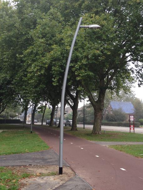 Laarbeekse woonwijk de Hoge Suute wordt verlicht met Innolumis openbare led verlichting
