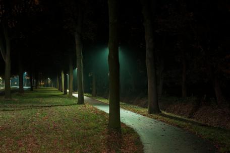Groene verlichting voor een 'veiliger' park