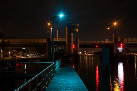 Gemeente Zaanstad kiest bijzondere led lichtkleur in het havengebied