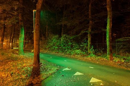 Gemeente Barneveld koploper in groene led verlichting