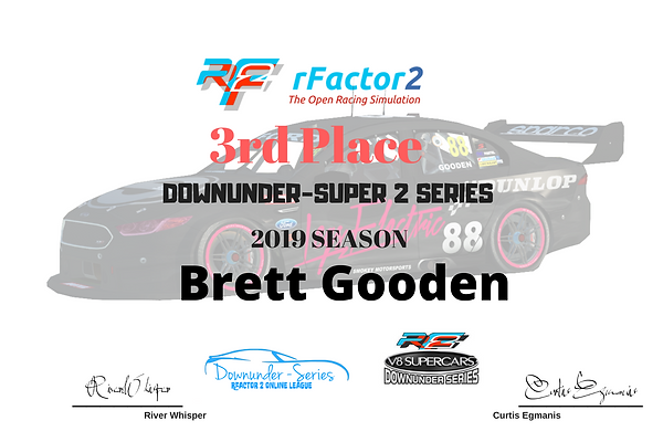 _Downunder super 2 series 2019 3rd place