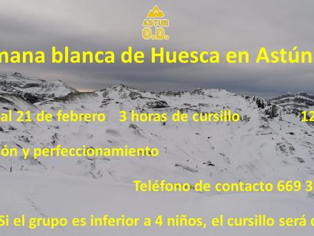 SEMANA BLANCA 2021 HUESCA