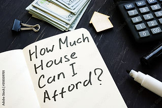 Understanding what you can afford