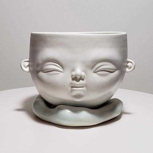 Sky Blue Bowl (Medium)-2