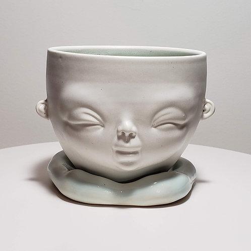Sky Blue Bowl (Medium)-1