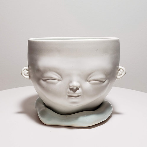 Sky Blue Bowl (Medium)-3