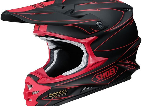 Shoei VFX-W MX Helmet Hectic TC1 Red