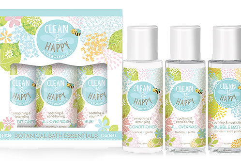 Clean & Happy™ Bathtime Essentials
