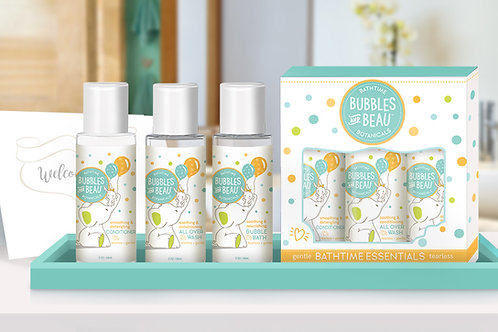 Bubbles and Beau™ Bathtime Essentials