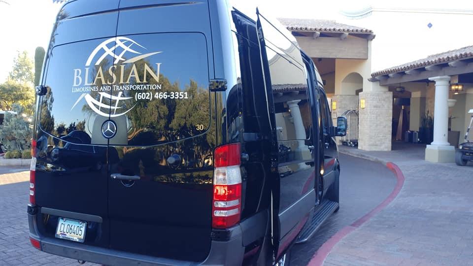 Holiday Light Tour Blasian Limousine and