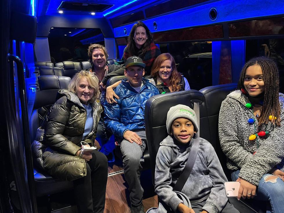 Arizona Holiday Light tours Blasian Limousine and Transportation