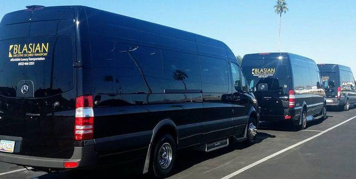 Phoenix Arizona Airport Group Transporty