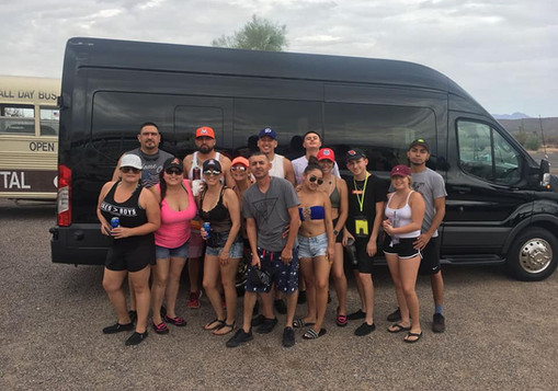 Salt River tubing transportation Company