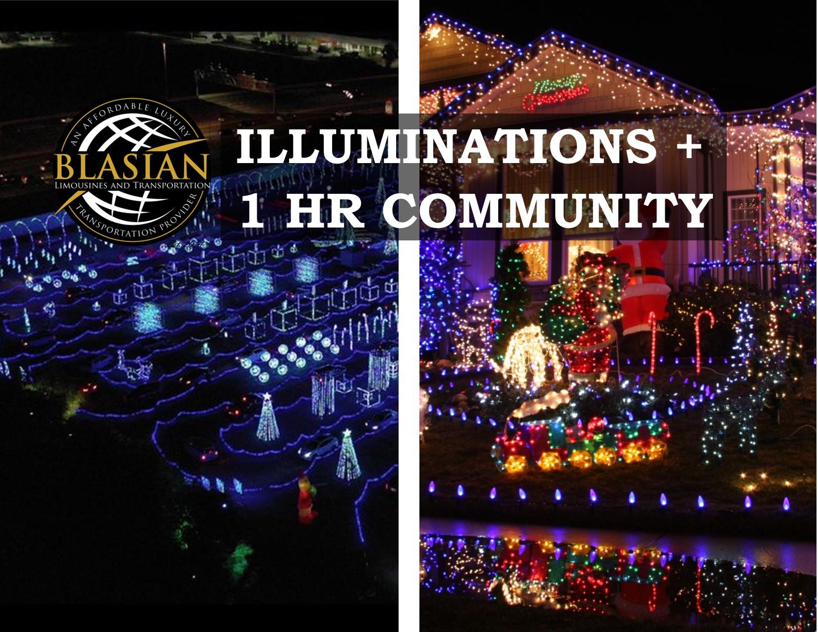 ILLUMINATIONS & 1HR COMMUNITY LIGHT TOUR