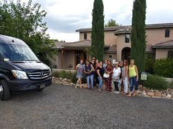 Blasian Wine Tour groups of all sizes
