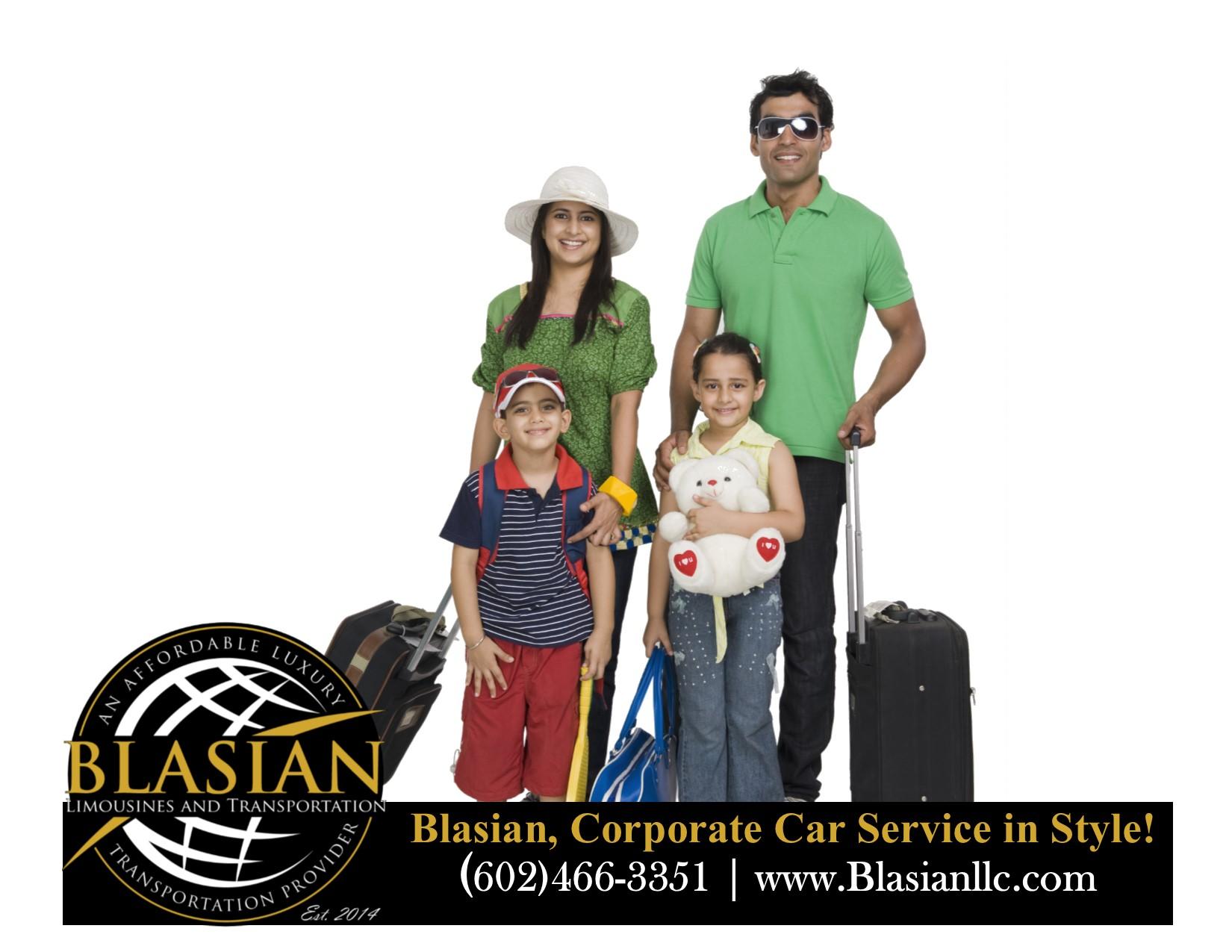 Phoenix AZ Airport Transfer Service Blas