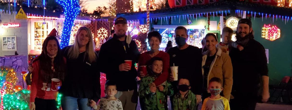 Christmas Light Tours Blasian Limo Phoen
