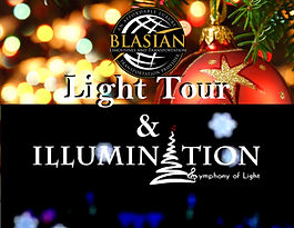 Deluxe Christmas Holiday Light Tour and