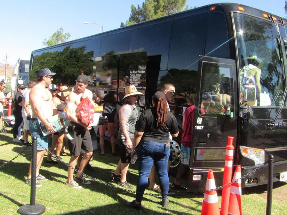 Large group and event Tubng Transportati