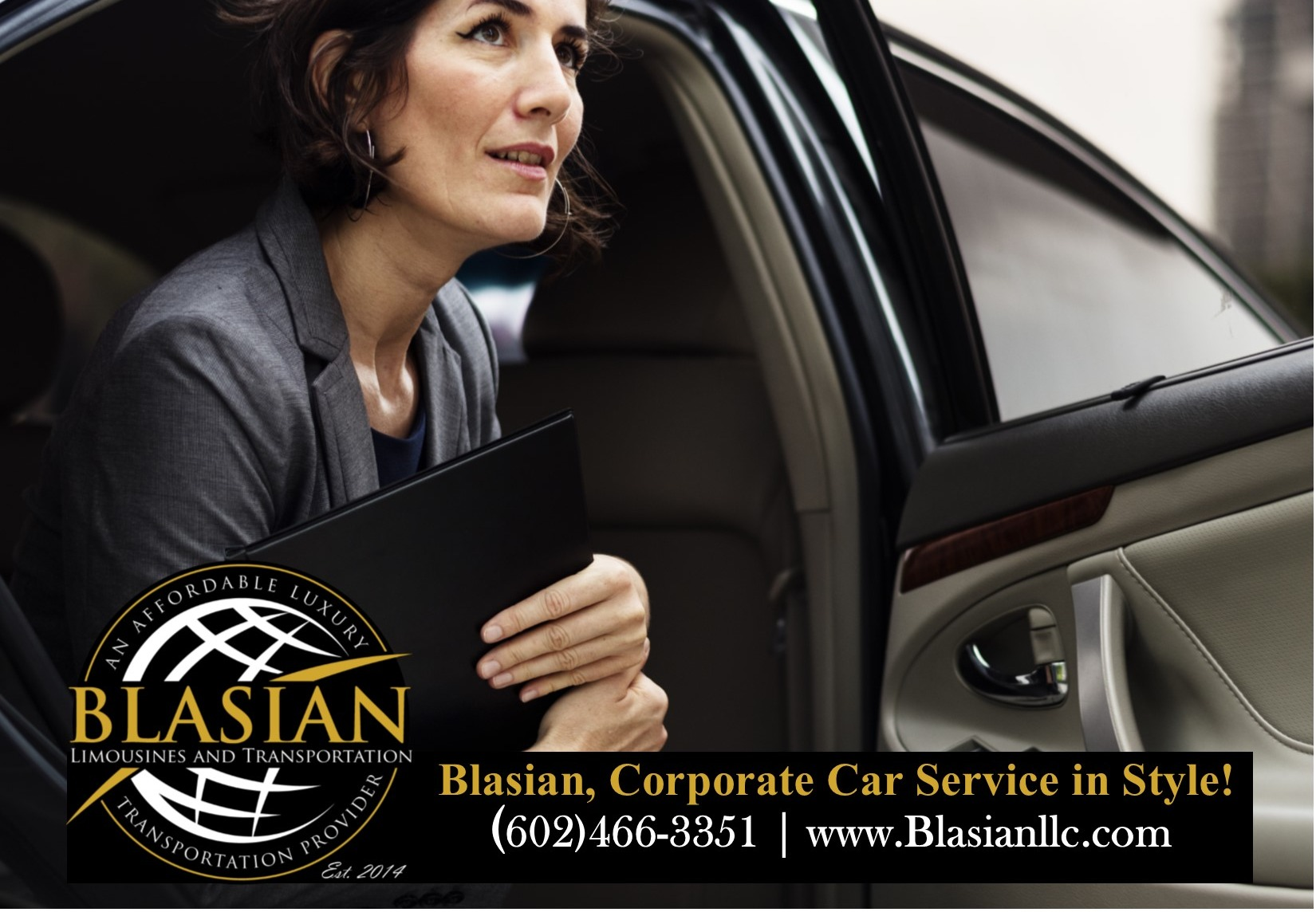 Phoenix AZ Corporate Car Service Blasian