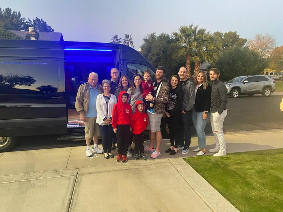 Arizona Christmas Light tours blasian