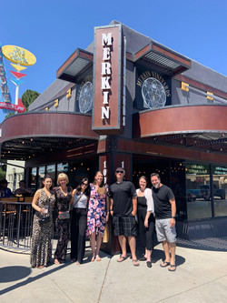 Blasian Wine Tours Lunch Stop