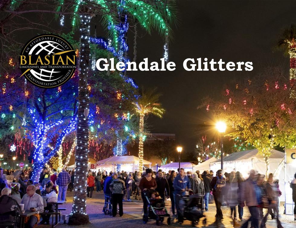 Glendale Glitters Holiday Light Blasian