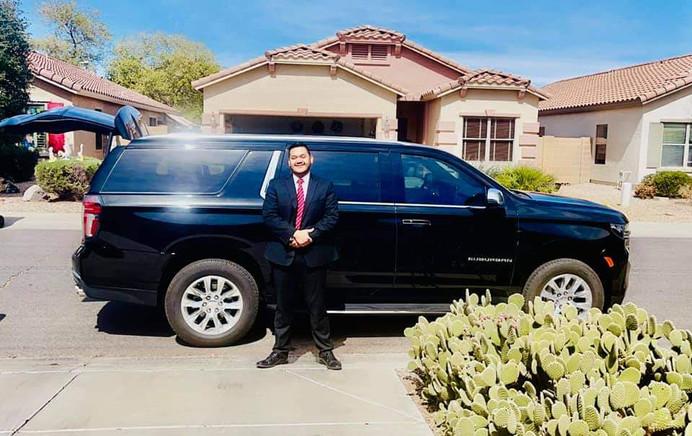 Scottsdale Airport SUV for Hire Blasian