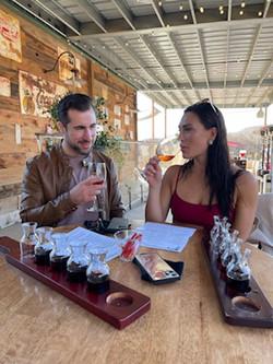 Arizona Wine Tour for couples Blasian Wi