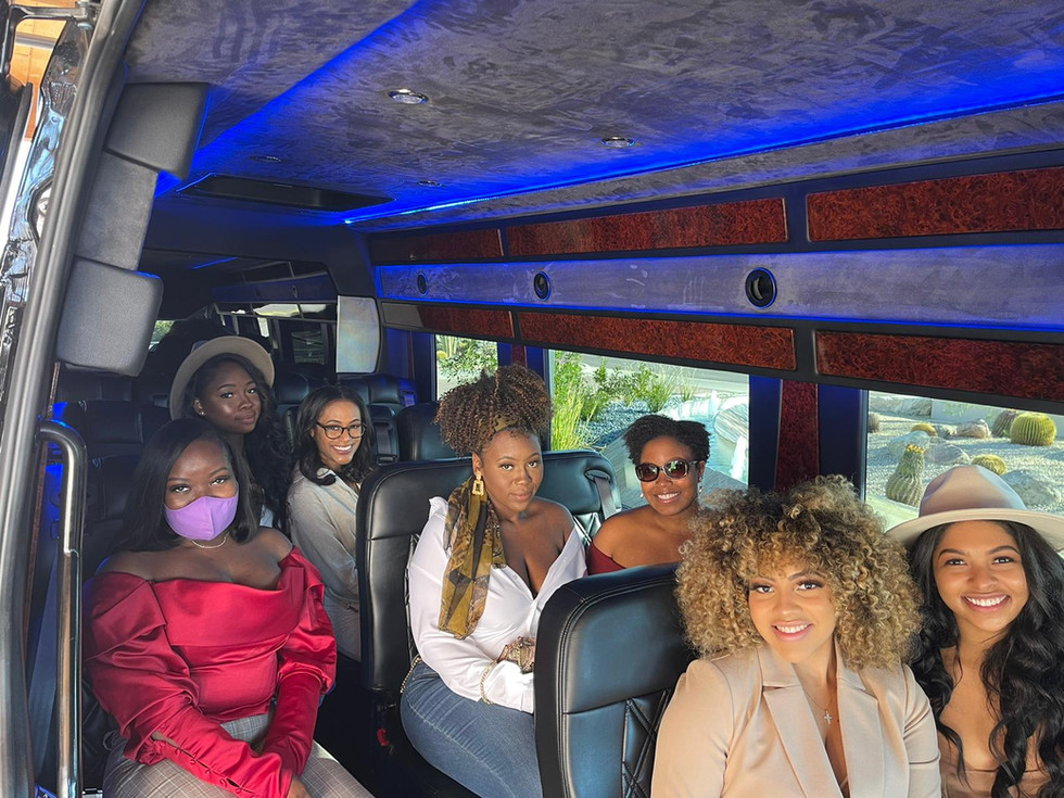 Wine Tour group transportation Blasian L