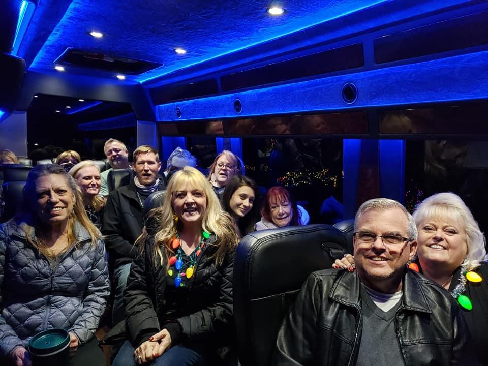 Christmas Light Tours Scottsdale AZ Phoenix AZ Blasian Limousine