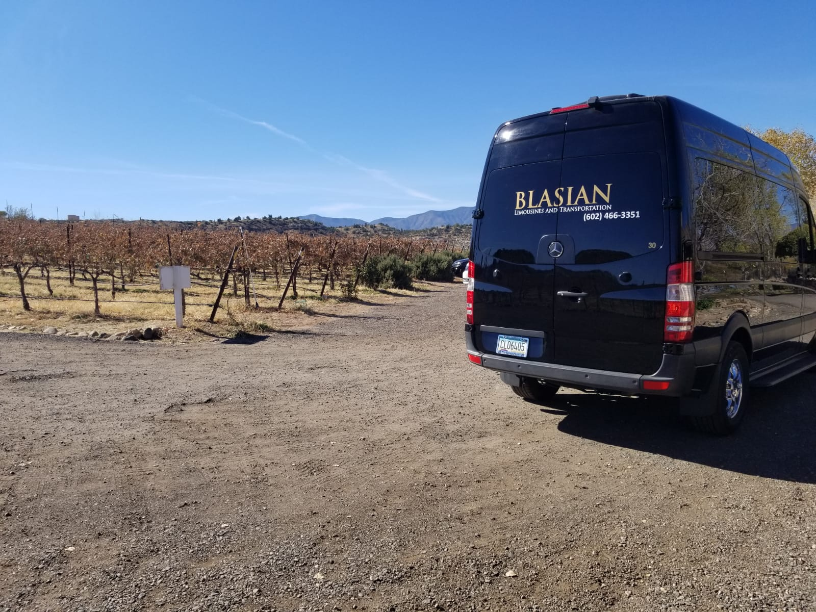 Arizona Wine tour Blasian Limo and transportation