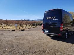 Arizona Wine tour Blasian Limo and transportation