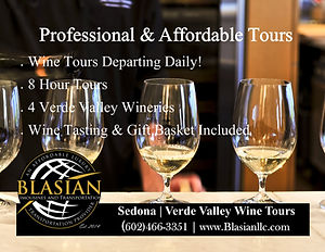 Best Sedona Wine Tour Verde Valley Wine