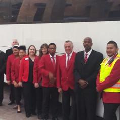 Blasian Limousine and Transportation Phoenix Sky Harbor group transportation Team