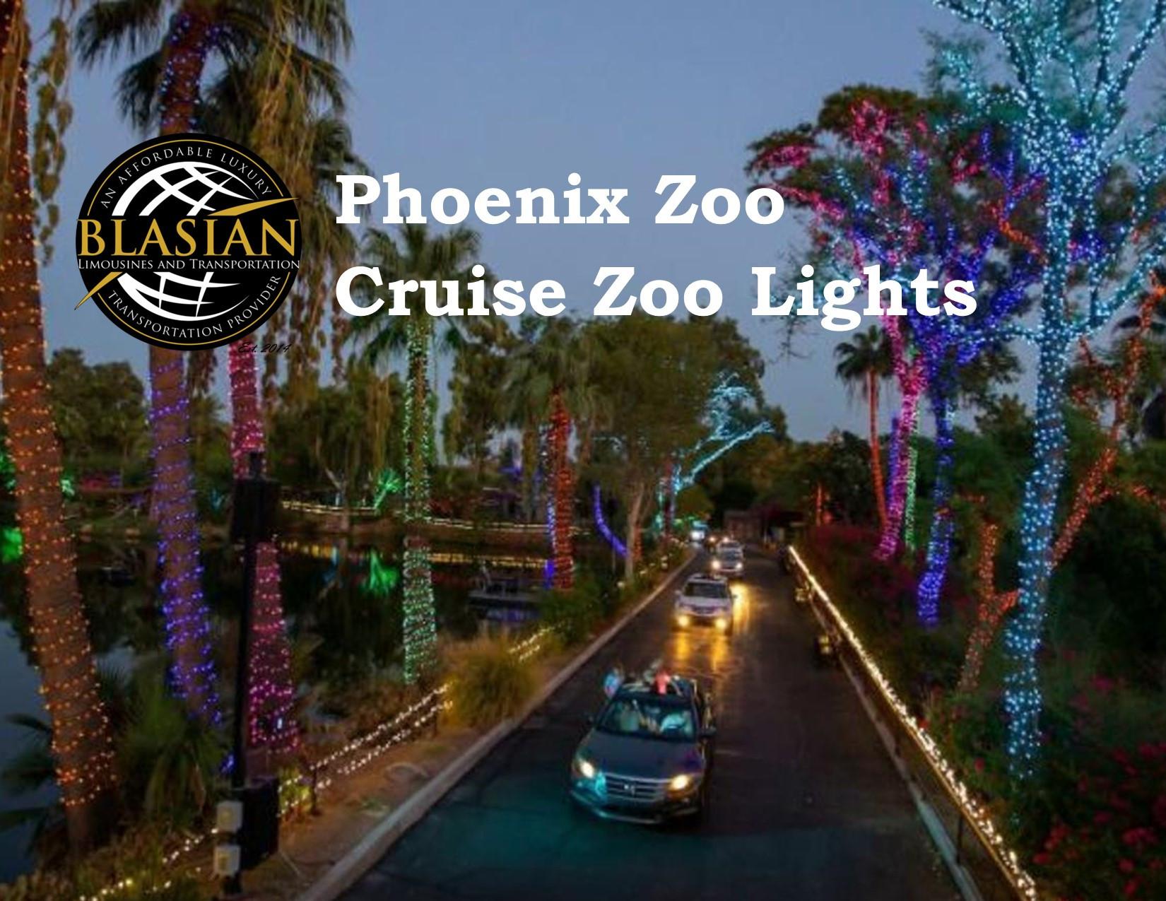 Phoenix Zoo CRUISE ZOO LIGHTS