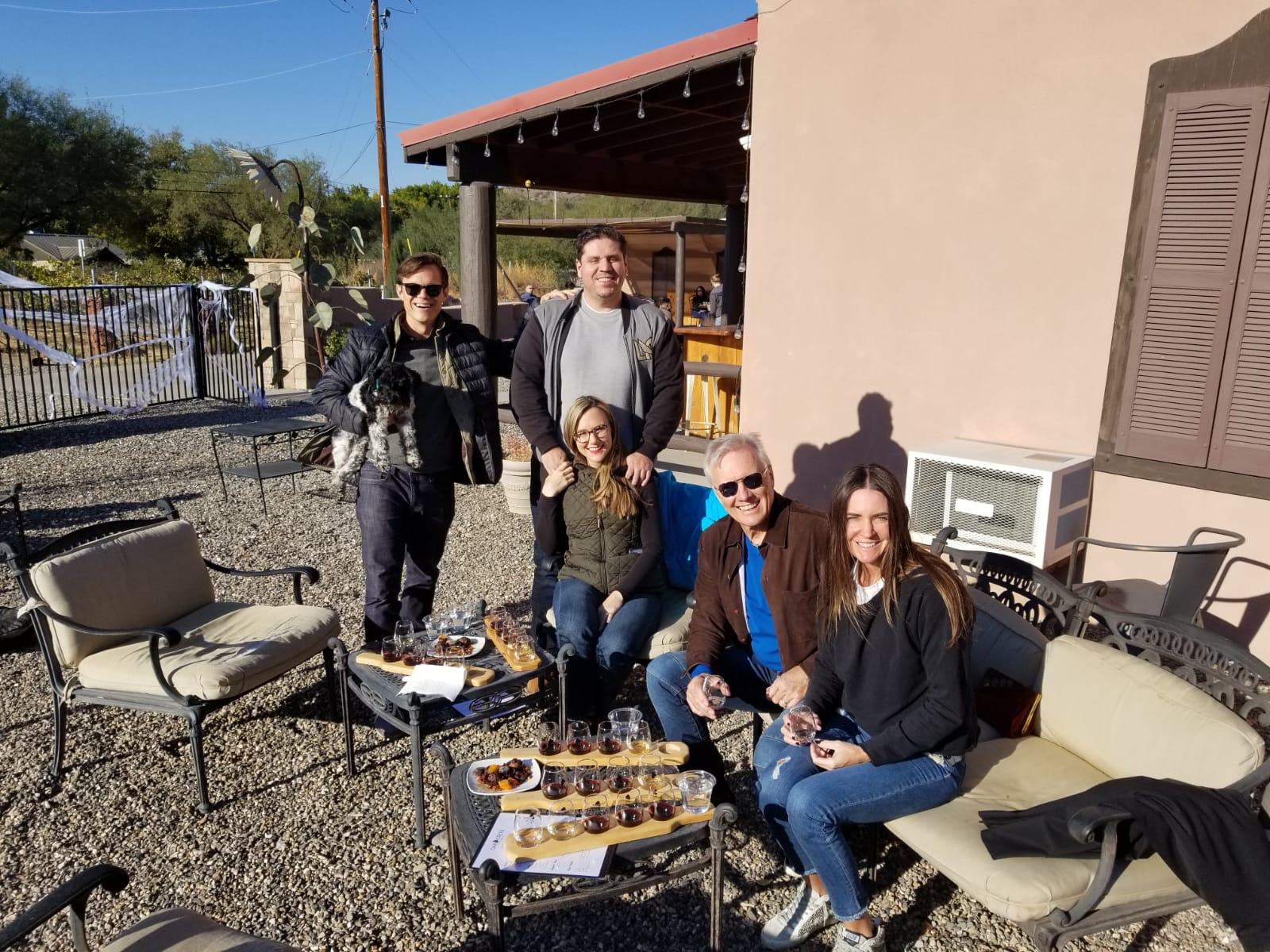 Sedona Wine Tour Blasian Limo