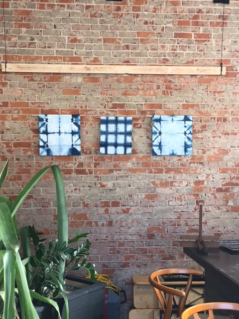 Indigo Shibori Wall Hangings