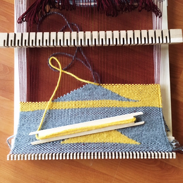 With more bravery I am able to tackle more complicated creative tasks like weaving