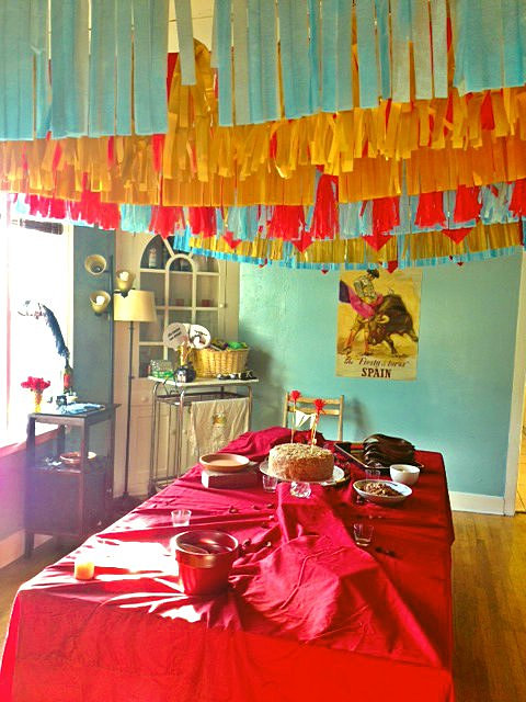 Inspirational Spain themed Party Decorations